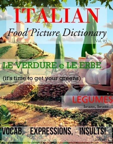 Italian Food Picture Dictionary: Vol 03 - Glossi by Alex Barfuss - Glossi.com | Learn Italian pdf | Scoop.it