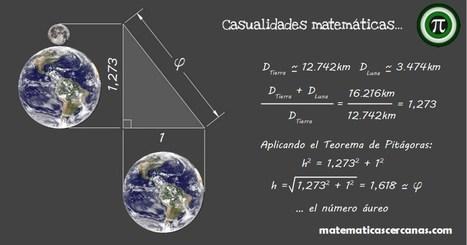 El número áureo... y la Tierra y la Luna   El diario de Alvaretto   Scoop.it