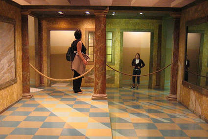 Ames Room\' in The brain and illusions | Scoop.it