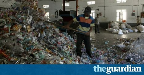 "Plastic roads: India's radical plan to bury its garbage beneath the streets (""makes better roads"") 