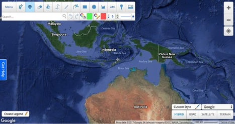 Map Of Australia And Neighbouring Countries.Australia And Its Neighbours Geography Stage 2 Scoop It