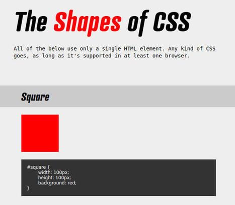 Les techniques de l'intégrateur : l'illustration animée en CSS #1 | Au fil du Web | Scoop.it