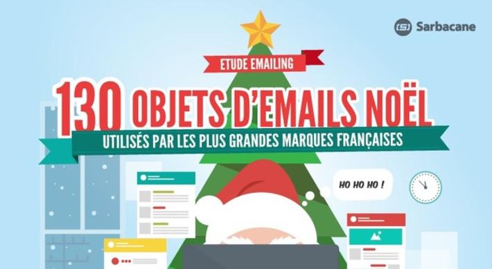 130 Objets d'Emails de Noël Utilisés par les plus Grandes Marques Françaises | Solutions locales | Scoop.it