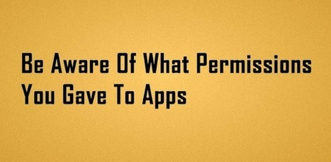 PermissionAware - Android Apps on Google Play | MobiLib | Scoop.it