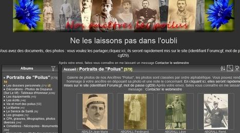 Site du jour (252) : Nos ancêtres les poilus | CGMA Généalogie | Scoop.it