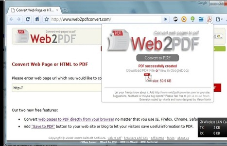 3 Handy Chrome Extensions To Turn Web Pages PDFs Via Medkh9