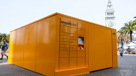 A giant, mysterious Amazon locker has appeared right in the middle of downtown San Francisco | AllAboutSocialMedia | Scoop.it