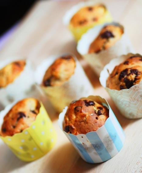 TAMINCHEN: Apfel-Schoko Muffins | Brownies, Muffins, Cheesecake & andere Leckereien | Scoop.it