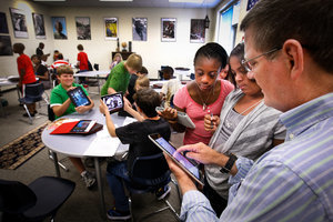 Muller Road opens year by closing books - Education - TheState.com | The iPad Classroom | Scoop.it