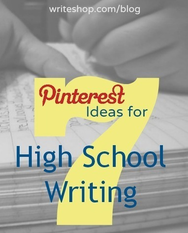 7 Pinterest Ideas for High School Writing ~ In Our Write Minds | Cool School Ideas | Scoop.it