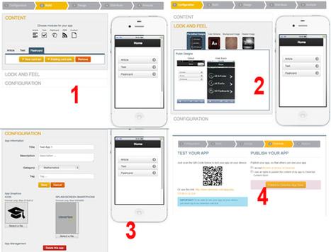 Créez des applications pédagogiques pour de multiples plateformes sans programmation | | Apps for EFL ESL | Scoop.it