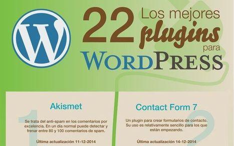 Infografía que nos presenta los 22 mejores plugins para WordPress | En la red | Scoop.it