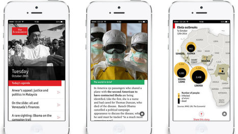 How The Economist's Espresso app goes beyond headlines to provide a daily shot of news analysis | New Journalism | Scoop.it