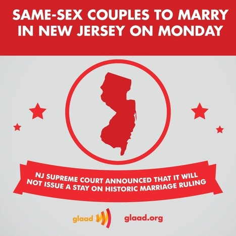 NJ marriages begin on Monday | Daily Crew | Scoop.it