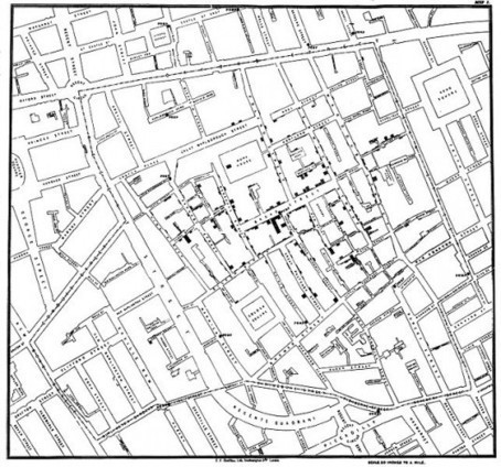 Ordnance Survey Blog » Medical cartography exhibition opens | cartography | Scoop.it