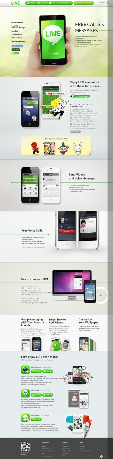 LINE - Free SMS, Free Voice call messenger application - LINE, una gran alternativa a WhatsApp con cliente para smartphone, tablet y ordenador | Curiosidades de la Red | Scoop.it