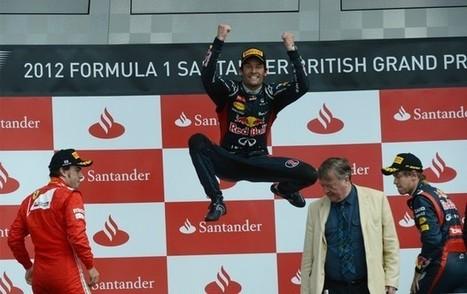 Webber desbanca Alonso no fim e vence GP da Inglaterra; Massa é 4º   esportes   Scoop.it