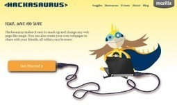 Mozilla presenta Hackasaurus | Escuela y Web 2.0. | Scoop.it