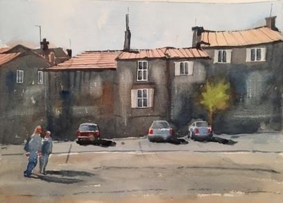 Artwork: Street Scene Provence - Open House Art | Art - Crafts - Design | Scoop.it