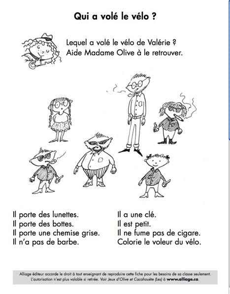 Qui a volé le vélo?   Languages, Cultures,Teaching & Technology   Scoop.it