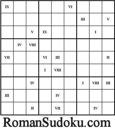 Roman Sudoku | Latin.resources.useful | Scoop.it