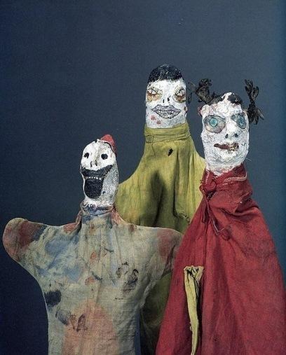 The Homemade Hand Puppets of Bauhaus Artist Paul Klee   Studio Art and Art History   Scoop.it