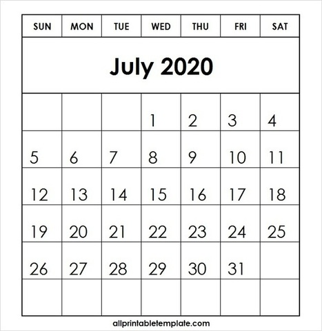 All Template For Printable June 2019 Calendar F