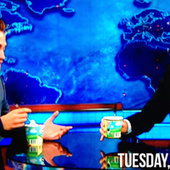 Robert Pattinson Eats Ice Cream on The Daily Show, Jokes About ... | The Twilight Saga | Scoop.it