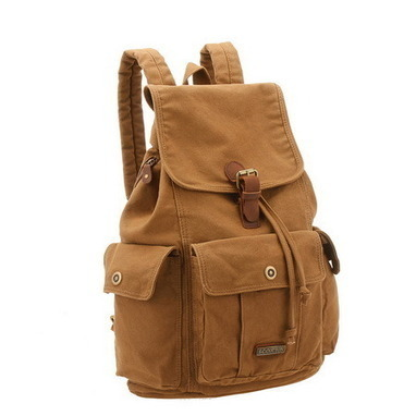 Fantastic multi pockets canvas backpack unisex from Vintage rugged canvas bags | Womens fashion | Scoop.it