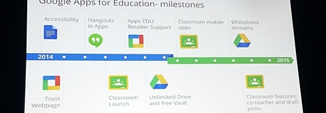 Google Education Gains Momentum: 50M App Users, 10M Chromebook Users | Leadership for Mobile Learning | Scoop.it