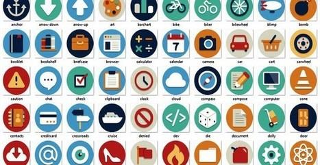 Beautiful Flat Icons, 132 iconos planos gratuitos en varios formatos | Recull diari | Scoop.it