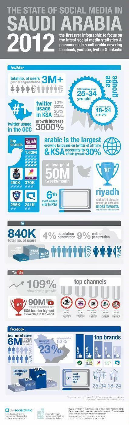 The State of Social Media in Saudi Arabia - Facts & Figures | 2012 | Media Intelligence - Middle East and North Africa (MENA) | Scoop.it