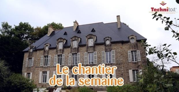 [Chantier de la semaine] Redécouvrez la rénovation d'une toiture en ardoise d'un manoir breton | La Revue de Technitoit | Scoop.it