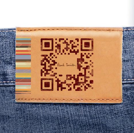 Personalised Paul Smith QR Code | Allicansee | Scoop.it