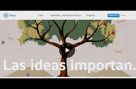 Aprende a crear metáforas visuales en Prezi | Tecnologias e Inteligencia Artificial | Scoop.it