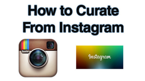 How to Share or Curate Content From Instagram | Defining New Media | Scoop.it