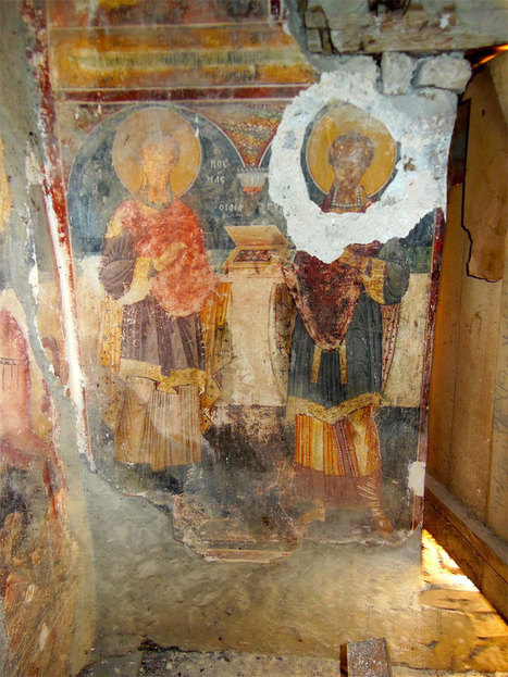 Albanian frescoes sustain irreversible damage : Past Horizons Archaeology | Archaeology News | Scoop.it