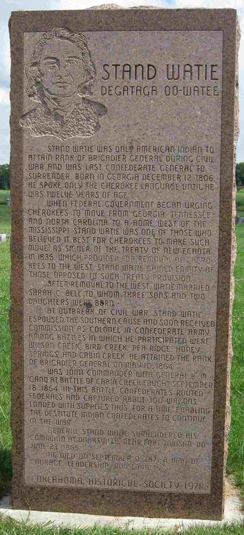 Stand Watie, Cherokee | Native Heritage Project | Kiosque du monde : Amériques | Scoop.it