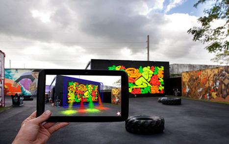 Du Steet Art en réalité augmentée   Machines Pensantes   Scoop.it