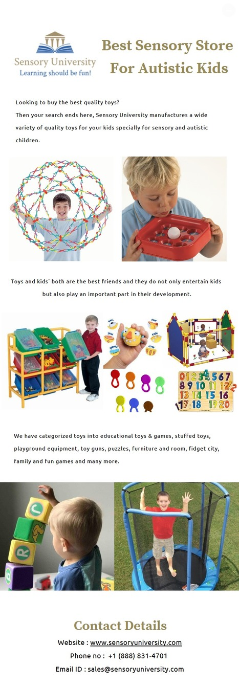 Best Sensory Store For Autistic Kids | publishi