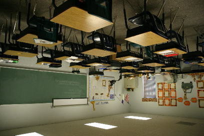 A Flipped Classroom? Or Should It Be Sideways? | Edudemic | For the Flipped Out | Scoop.it