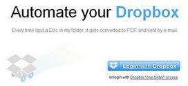 [astuce] Dropboxautomator: un outil pour mieux utiliser ses fichiers Dropbox | Social Media Curation par Mon Habitat Web | Scoop.it