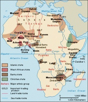 Africa in the 1400s | Community Village World History | Scoop.it