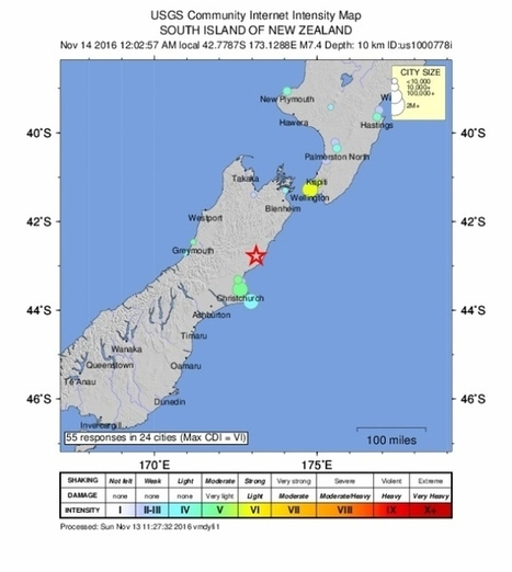 7.8 magnitude earthquake strikes New Zealand | LibertyE Global Renaissance | Scoop.it