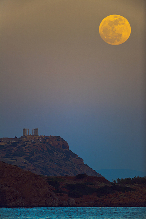 APOD: 2013 June 22 - Perigee s Full Moon | Astronomy Domain | Scoop.it