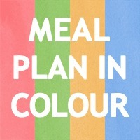 Meal planning home | Siansplan.com | Meal plan in colour | Sustainable Intelligence | Scoop.it