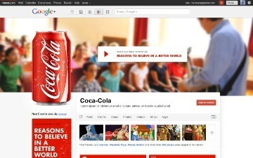 What Google+ Brand Pages Could Look Like [PICS] | About Google+ | Scoop.it