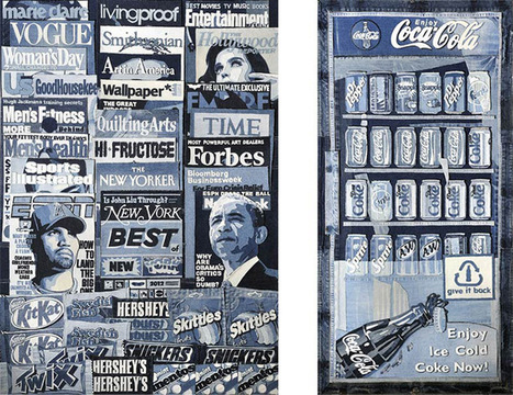 Pieces of Denim Recycled Into a Newsstand Sculpture - My Modern Metropolis   Le It e Amo ✪   Scoop.it