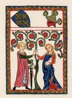 Resultado de imagen de la caballería y el amor cortes