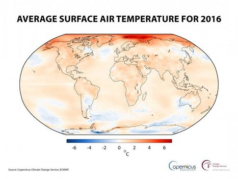 FreshFruitPortal.com | 2016 the warmest year on record globally, new data shows | Fruits & légumes à l'international | Scoop.it